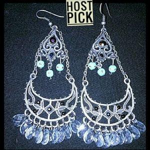 Jewelry - ❤HP! *Stunning Boho Chandelier Earrings*❤